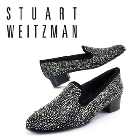 Stuart Weitzman Suede Studded Loafers eastbay online 3MV7V